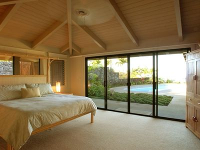 Master Bedroom and Pool