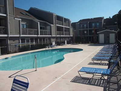 Pool area renovated in 2010. Full concrete patio, new furniture, and grills.