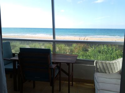 Courseulles-sur-Mer apartment rental - View from the loggia side of living/dining room