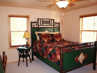 Mackinaw City house photo - Rustic 'Twig' Bedroom