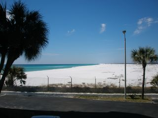 Okaloosa Island condo photo - View from front door