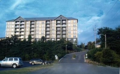 Pigeon Forge condo rental - Entrance to Mountain View Condos @ Pigeon Forge