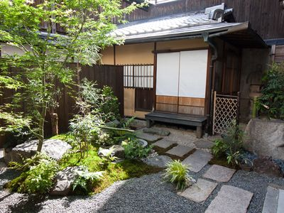 The Tea Ceremony Room and Japanese Garden