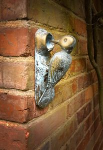 The Woodpecker Door Knocker