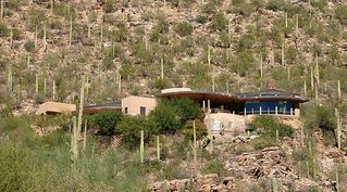 Tucson house photo - Home on 14 acres overlooking the city