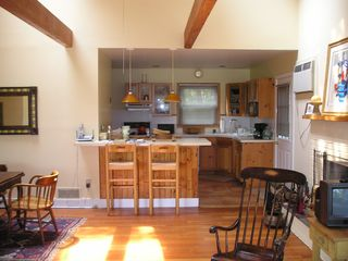 Sag Harbor house photo - Comfortable, living-dining-kitchen space.