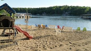 Osage Beach condo photo - Beach area: Kids love this.