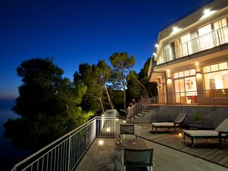 Milna villa photo - Evening view