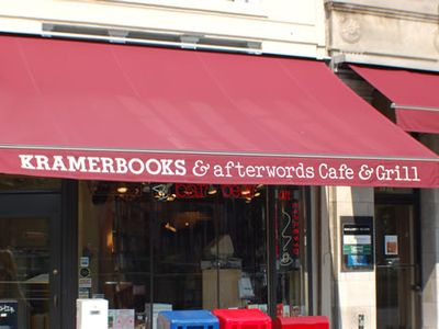 Kramer Books and afterwords Cafe - A Dupont Circle Icon