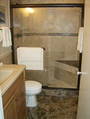 South Padre Island condo photo - Master bath