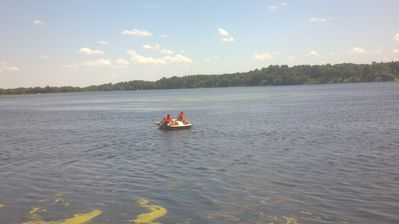 paddle boating fun included with your stay