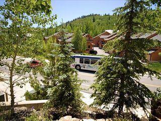 Park City condo photo - Free bus stop across the street