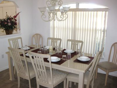 Formal dining area - easily seats 8