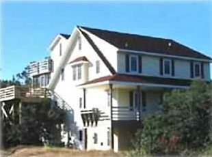Corolla house rental - Carotank House - a classic Nags Head Style with four levels