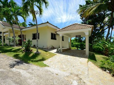Front of 3 Bedroom Villa with Car Port