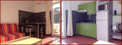 apartment/ flat - 2 rooms - 4/5 persons