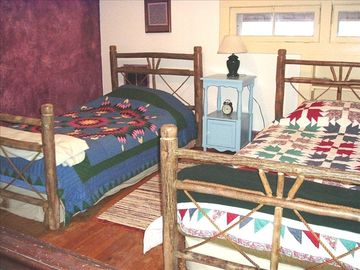 Kids favorite upstairs bedroom