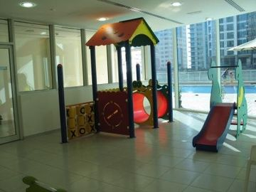 Childen's Playing Area by the Swimming Pool