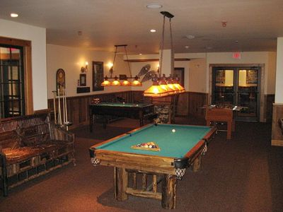 Game Room With Two Bowling Lanes