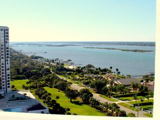 Daytona Beach Shores condo photo - Panoramic views of the Ocean, Peninsula and the inter coastal from dining room!