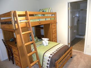 Bellavida Resort house photo - Bedroom 6, Bunk beds, Ensuite and 32 Inch HD LCD TV