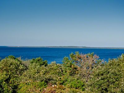 Martha's Vineyard Vacation Rentals Chappy: Beach House Has Water Views Across Edgartown Harbor To Cape Pogue