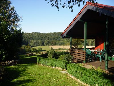 Cottage with beautiful panoramic views of the valley! At the Forest. Fireplace. Fenced. Grd.