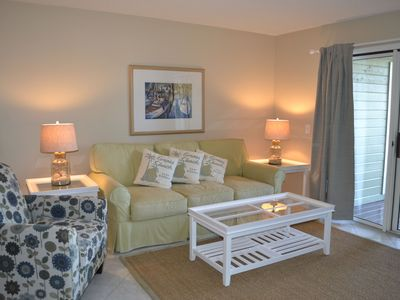 Isle of Palms villa rental - Living area