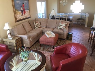 Pismo Beach house rental - The Family Room is located on the 2nd floor with a view.