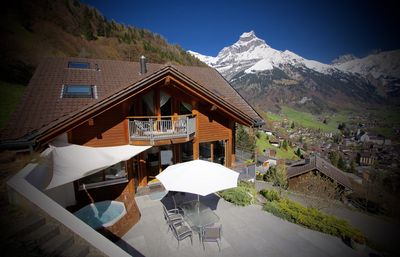 ALPHAVEN  featuring Apartment A's Terrace and Private Covered HOT TUB