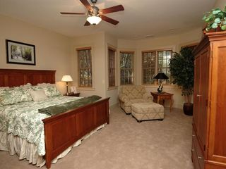 Cashiers estate photo - Lower Level Guest King Master Bedroom