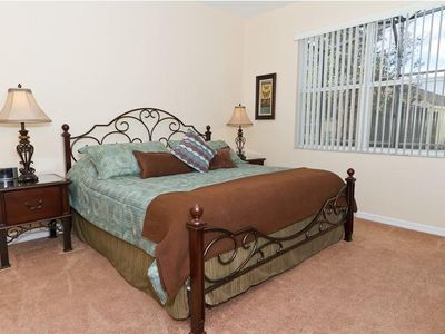 Haines City villa rental - Master Bedroom 1 with King Sized Bed