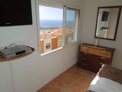 Costa Adeje house rental - Flatscreen in the bedroom