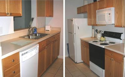 2 Views of the Galley Kitchen