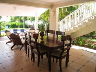 Puerto Plata villa photo - Patio area for outdoor dining