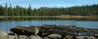 McCloud house photo - Gumboot Lake- One many mountain lakes near McCloud