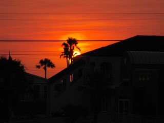 South Padre Island condo photo - sunset