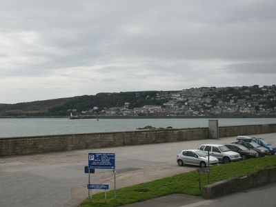 View to Newlyn and Mousehole