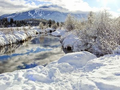 Scenic Winter Landscapes in Whistler, British Columbia