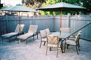 Pacific Beach house photo - Sunbathing & Entertainment Patio