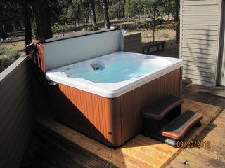 Sunriver house photo - Our new Hot Tub installed September 2012