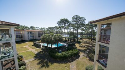 SOUTH OF 30A!!!   OCEAN VIEWS!!!  SLEEPS 10 WITH KIDS! PETS CONSIDERED!