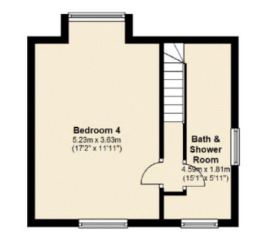 Layout Top Floor