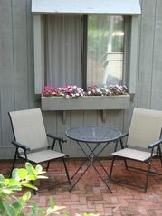 New Seabury condo photo - The Patio is a Great Place to Read and Relax.