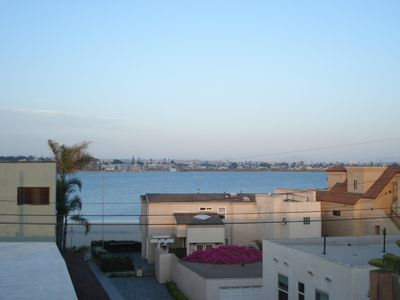 View of Mission Bay from the Private Rooftop Deck