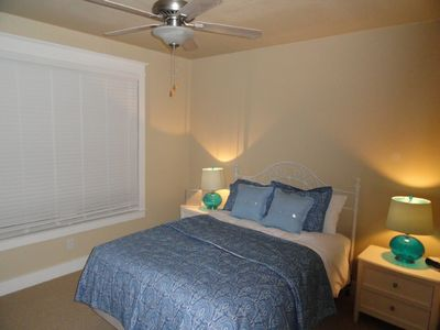 Queen bedroom down sleeps 2 adults