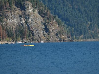 Kayaking to Copper Island