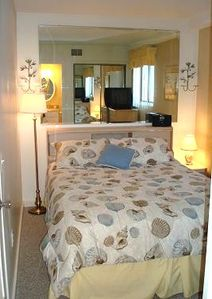 Myrtle Beach Resort condo rental - Queen Size Bedroom