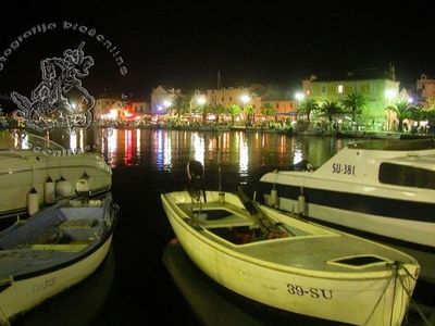 Supetar at night