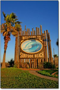 Surfside Beach cottage rental - You will love the charm of this beachside village.